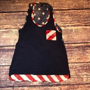 Rue 21 4th of July tank top